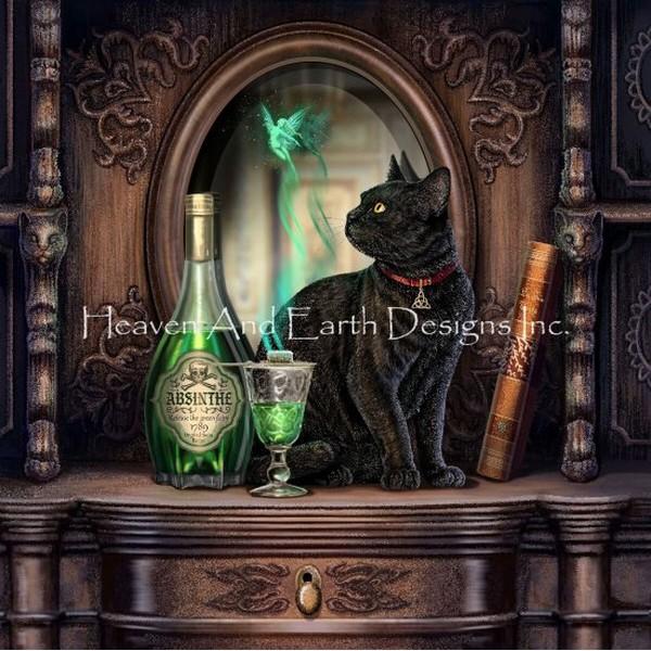 クロスステッチ刺繍キットAbsinthe LP-Heaven And Earth Designs(HAED)