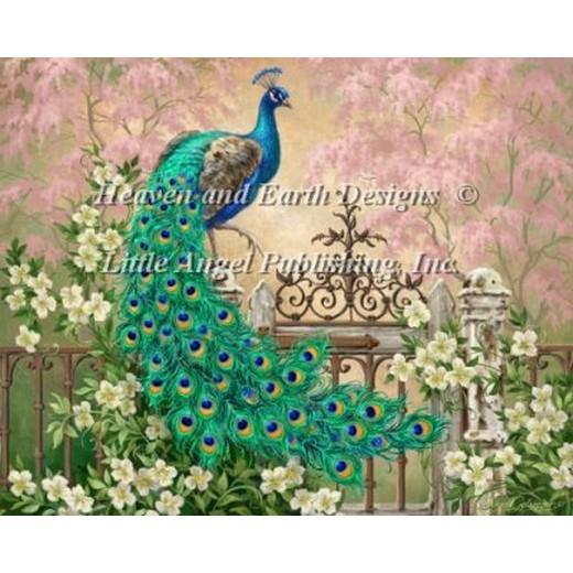 クロスステッチ刺繍キット海外輸入の全面刺しです クロスステッチ キット 上級者 国内即発送 全面刺しJewel Of The 奉呈 Garden And Designs Two-Heaven Earth HAED