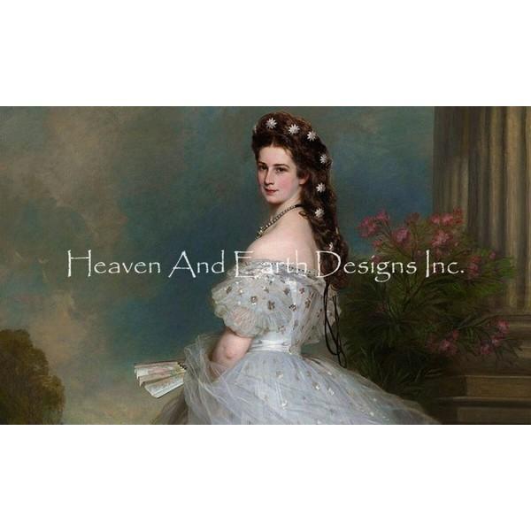 クロスステッチキットEmpress Elizabeth-HAED(Heaven And Earth Designs