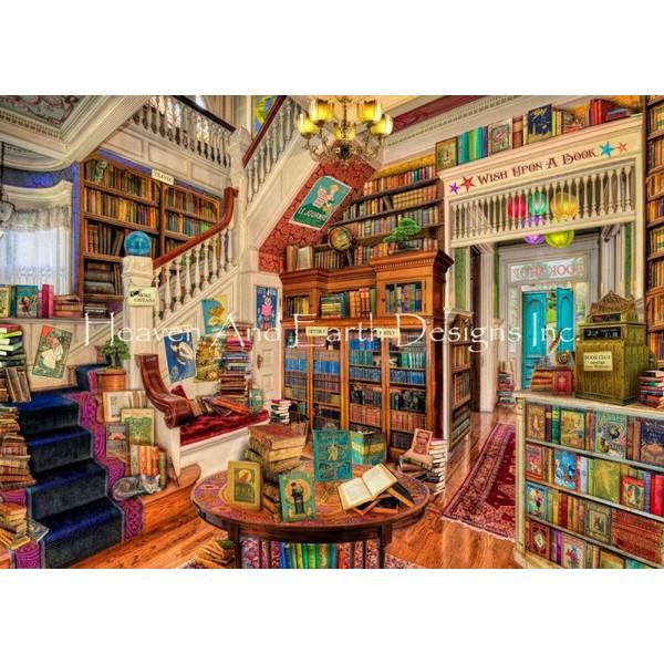 Readers Paradise-HAED(Heaven And Earth Designsクロスステッチキット初心者から上級者向け