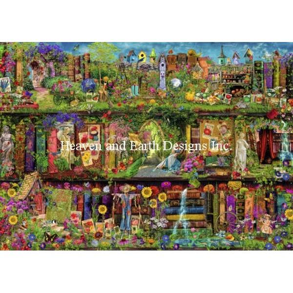 The Secret Garden AS 18ct-HAED(Heaven And Earth Designsクロスステッチキット初心者から上級者向け
