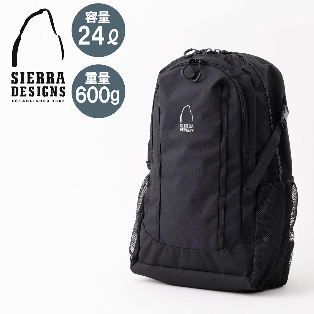 シェラデザイン SIERRA DESIGNS | バックパック SDB-430 ビックパックM 24L | 通勤 通学 A4 リュック リュックサック ナイロン メンズ レディース アウトドア 軽量 BACKPAC 大容量 ギフト プレゼント