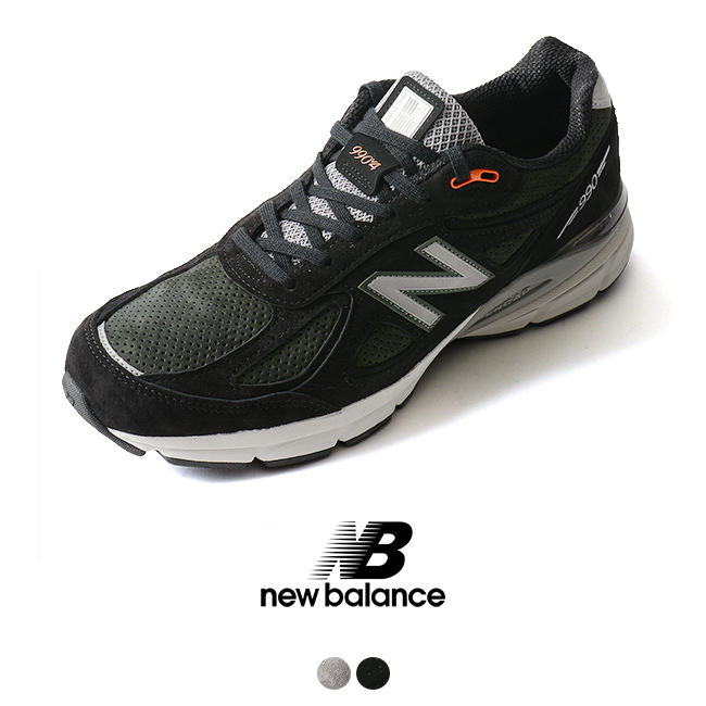 new styles 0498e f0ca8 new balance New Balance 990v4 running shoes M990 MB4 SG4 sneakers #1006