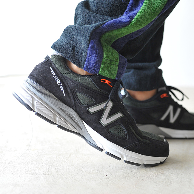 new styles 96e07 bcd92 new balance New Balance 990v4 running shoes M990 MB4 SG4 sneakers #1006