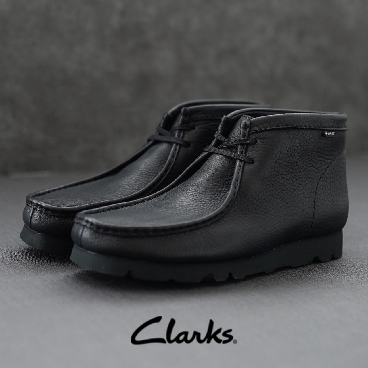 クラークス 百貨店 (人気激安) Clarks ゴアテックス搭載のハイパフォーマンスシューズ ワラビー ブーツ ゴアテックス Wallabee Boot GTX GORE-TEX 25.5cm-28.5cm レースアップ メンズ 2021秋冬 チャッカブーツ 0824 レザー 送料無料 26146260