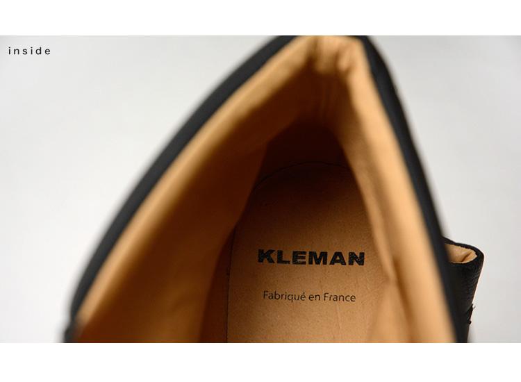 KLEMAN 클레멘트 OKADI/레더 트레킹 부츠 (2 컬러)
