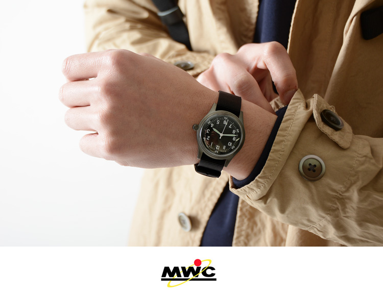 MWC military watches company Classic Range Mechanical Watch / military wrist watches / watches / gg-w-113 (Atomatic)-11 (Atomatic) (2 colors)