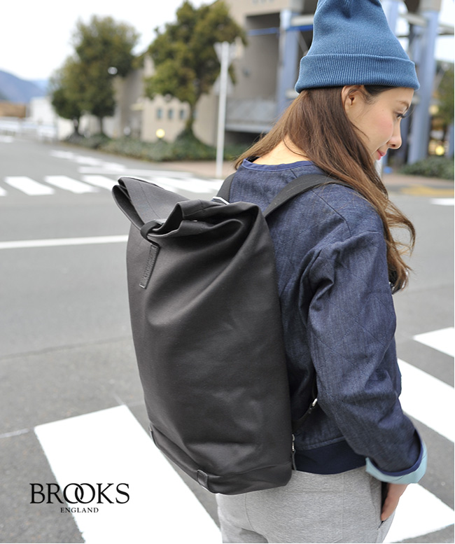 24 l BROOKS Brooks PICKWICK and Pickwick cotton canvas backpack Tote  backpack cycling (unisex) cdee0055edc91