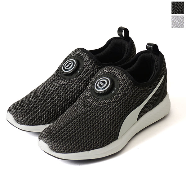 PUMA PUMA DISC SLEEVE IGNITE KNIT   disc sleeves knit ignite and run  high-tech sneakers-0824 360724 (unisex) Rakuten card Division 3ada74bf18cee