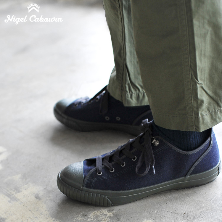 715fff8d1fc8 Nigel Cabourn Nigel Kay Bonn ARMY TRAINERS LOW TOP army trainer low top low-frequency  cut sneakers .80340862000.80340062000 (unisex)  0417