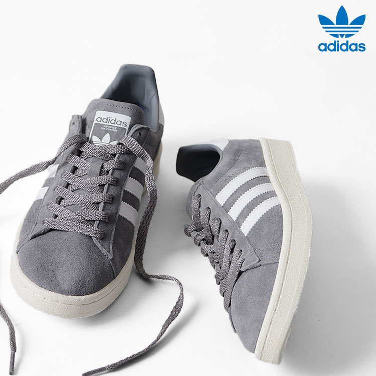 100% authentic 75890 e4278 CP campus suede sneakers. A model  A 173cm 58 kg wearing color  Gray (BA7535)  wearing size  26.5cm