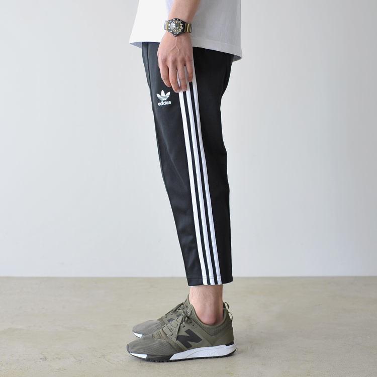 d6f21452544c adidas Adidas SST RELAX CROPPED PANTS NQD01 relaxation cropped pants sports  trackpants