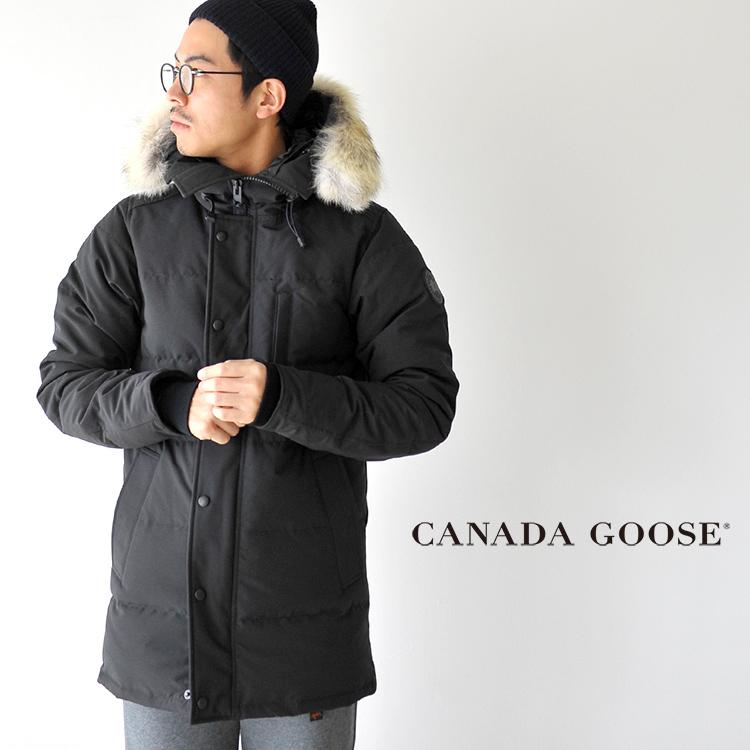 CANADA GOOSE Canada goose CARSON PARKA FF BLACK LABEL Carson parka black  label down jacket .3805MB in the fall and winter latest 2017 a3d9be78b6d5