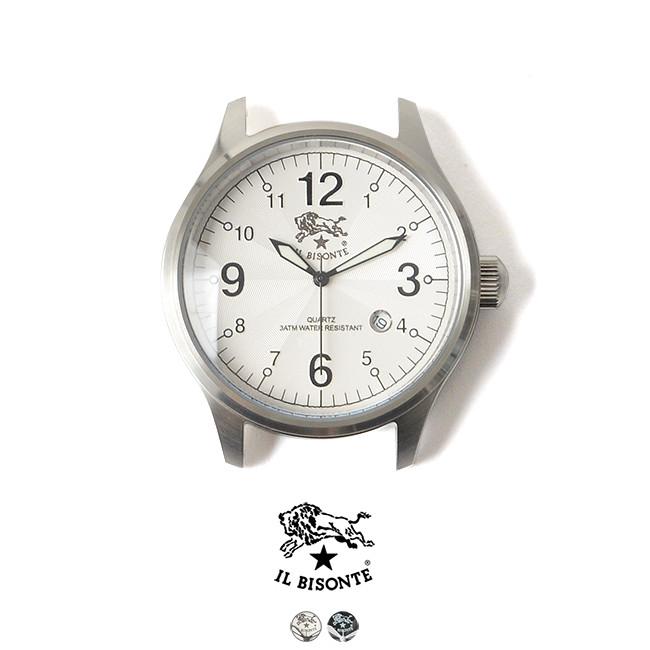 国内正規販売店 IL BISONTE イルビゾンテ アナログクォーツ メンズ ラウンドフェイスムーブメント DATE付き 腕時計・5422310597【送料無料】 #0710