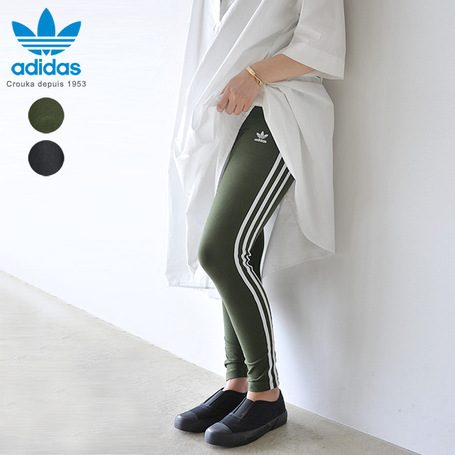 a751e2f31b4e adidas originals Adidas originals 3STRIPES TIGHTS 3 stripe tights leggings  in the fall and winter latest 2018