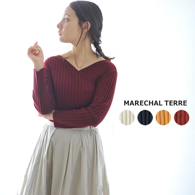 【SALE!20%OFF】MARECHAL TERRE マルシャルテル Cashe coeur knit カシュクール ニット ・ZMT184KN341#0824【セール】【返品交換不可】【SALE】
