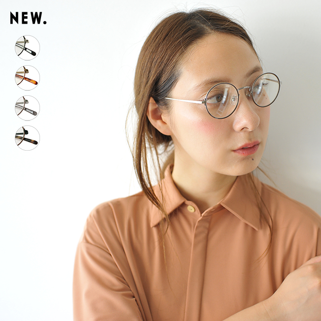 2018秋冬新作 NEW. ニュー TOM トム ラウンド型 メタルフレーム 眼鏡 伊達メガネ 丸眼鏡 #0903