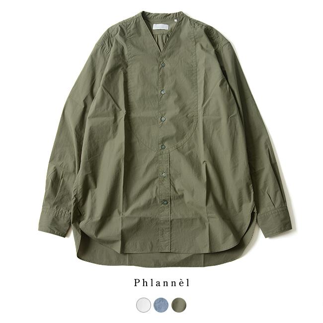 2018秋冬新作 Phlannel フランネル Evening Shirt 長袖イブニングシャツ ・PHSH-U1851 【送料無料】 #0806