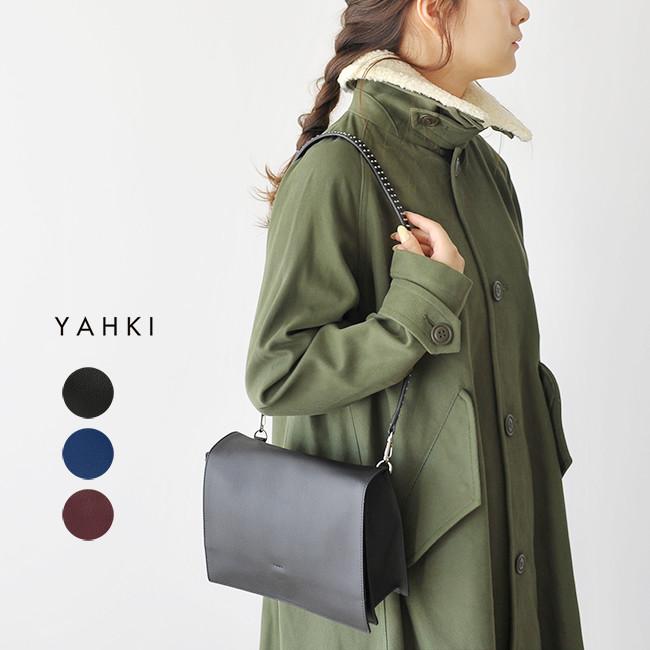 2018秋冬新作 YAHKI ヤーキ スタッズ付き ショルダーバッグ ・YH-192 【送料無料】#0831