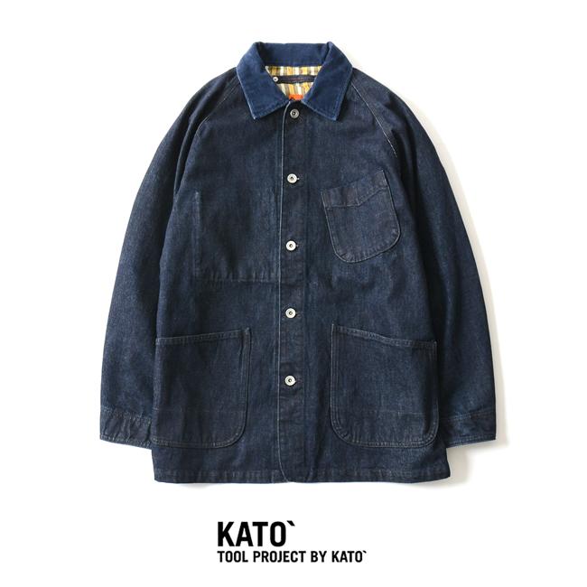 2018秋冬新作 KATO` カトー ラグランカバーオール オーバーサイズ ・KJ833131 【送料無料】