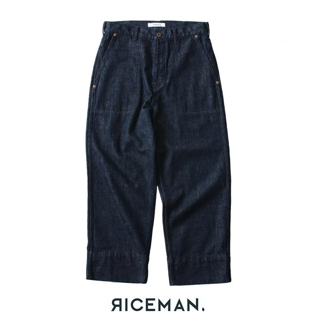 2018秋冬新作 RICEMAN ライスマン Work Pants ワークパンツ ・3475-1039-1 【送料無料】 #1004