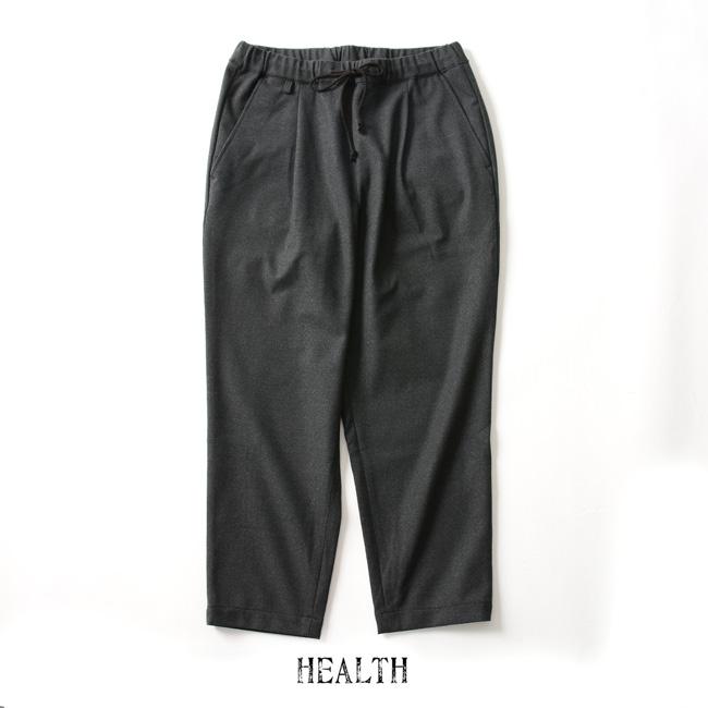 【SALE!20%OFF】HEALTH ヘルス Easy pants #2 9分丈 スラックスイージーパンツ・HP-18-027 #1007【セール】【返品交換不可】【SALE】