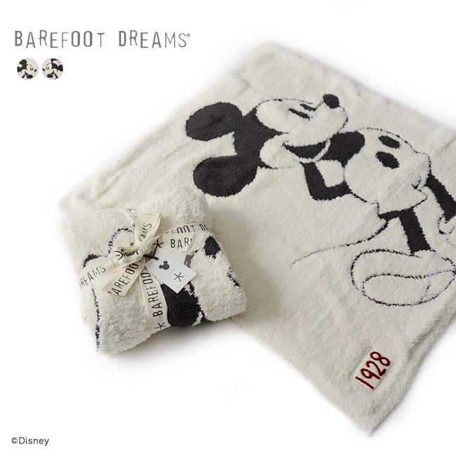 【SALE!20%OFF】BAREFOOT DREAMS ベアフットドリームス Classic Mickey Classic Minnie Baby Blanket クラシックミッキー クラシックミニー ベビーブランケット ・9940100067・9940100068【セール】【返品交換不可】【SALE】