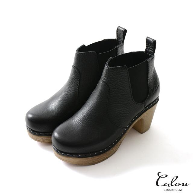 【SALE!20%OFF】Calou Stockholm カルーストックホルム Doris Boot ドリス ブーツ サイドゴア ブーツ ショートブーツ・53184-2-01007【送料無料】【セール】【返品交換不可】【SALE】