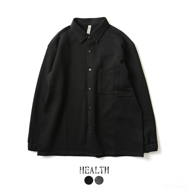 【SALE!20%OFF】HEALTH ヘルス Room shirts ルームシャツ ワイドシルエット シャツ ・HC-18-022・023 #1128【送料無料】【セール】【返品交換不可】【SALE】