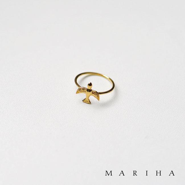 2018秋冬新作 MARIHA マリハ 青い鳥 ゴールド リング 指輪 11号・1101830040199 【送料無料】#1217