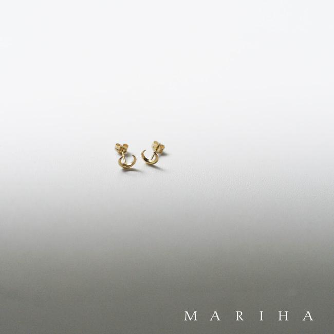 MARIHA マリハ 三日月 ゴールド ピアス ・1103830010199 【送料無料】#1217