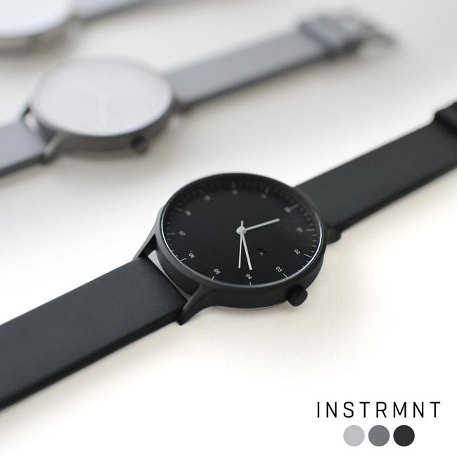 INSTRMNT インストゥルメント ラバーストラップ リストウォッチ アナログ 腕時計 ・ 3280 #0106