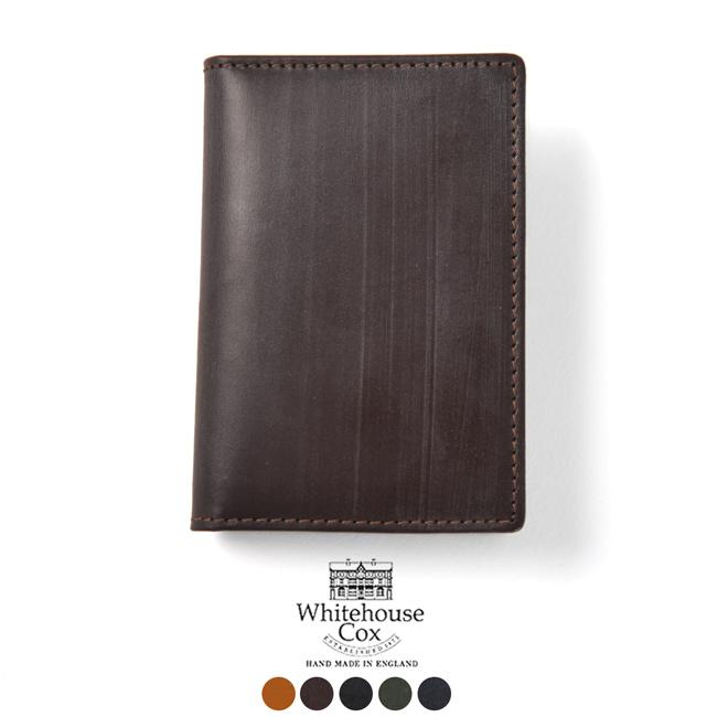 ホワイトハウスコックス Whitehouse Cox NAME CARD CASE ブライドルレザー カードケース 名刺入れ・s-7412 【送料無料】#0118[クーポン対象外]