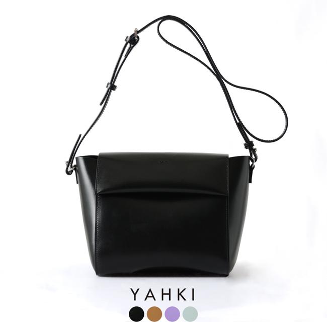 2019春夏新作 YAHKI ヤーキ フラップ スクエア ショルダー バッグ ・YH-229 【送料無料】#0205