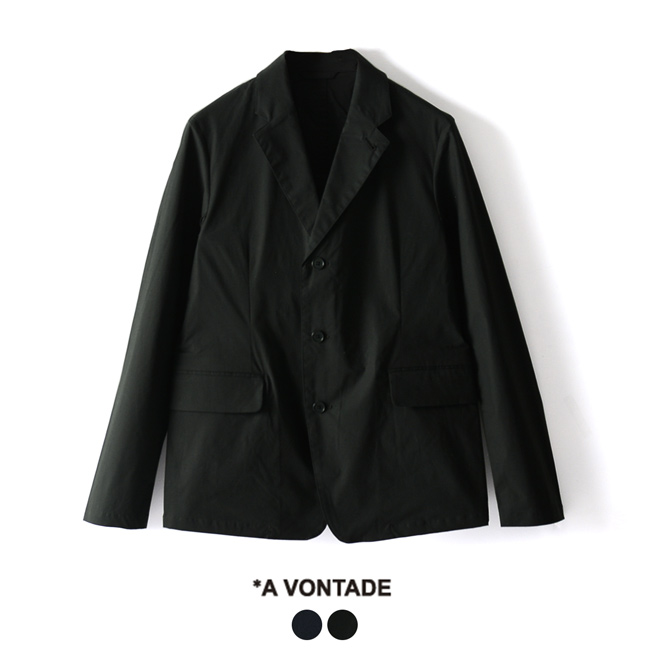 【SALE!30%OFF】アボンタージ A Vontade Sunset Jacket 2 サンセットジャケット テーラードジャケット ・VTD-0384-JK #0216【送料無料】【セール】【返品交換不可】【SALE】