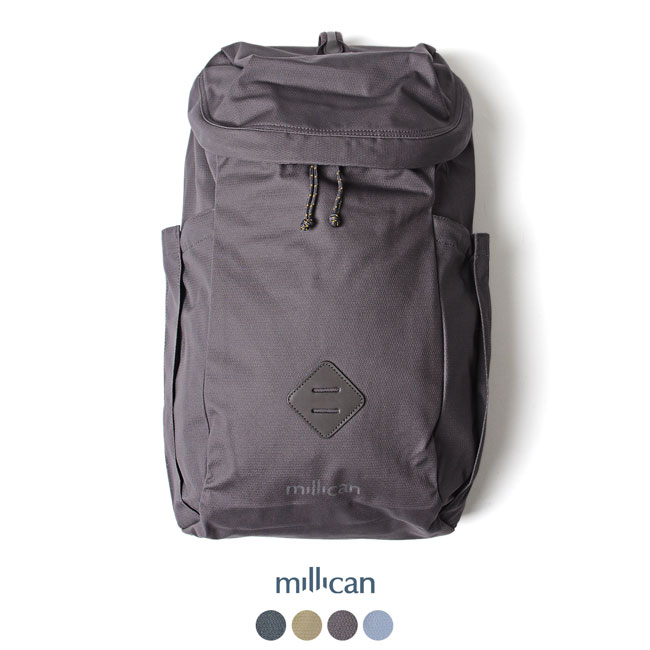 ミリカン millican Oli the Zip Pack 25L シンプル バックパック 25L ・M032 【送料無料】2019春夏新作 #0321