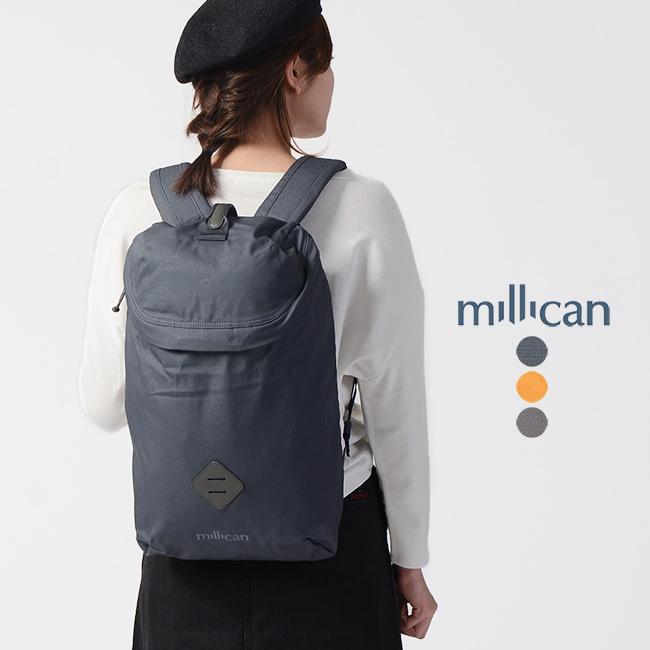 ミリカン millican Oli the Zip Pack 15L シンプル オリ ジップバックパック 15L ・M030 【送料無料】2019春夏新作 #0322