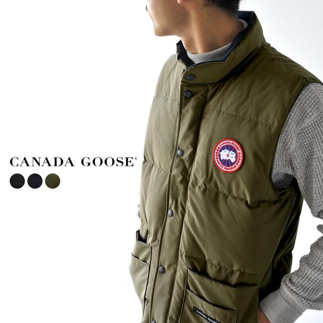 カナダグース ダウン メンズ ベスト CANADA GOOSE フリースタイル クルー ベスト FREESTYLE CREW VEST ダウンベスト スリムフィット メンズ 2020秋冬 アウター 4154M 【予約商品】【送料無料】
