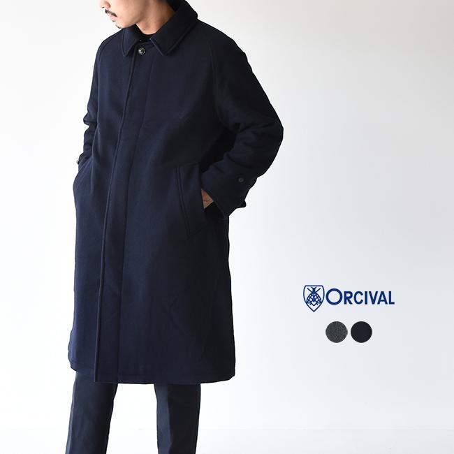 オーチバル オーシバル ORCIVAL メリノモッサ×インサレーション キルト ステンカラー コート ワイドシルエット メンズ 2020秋冬 アウター RC-8088MSM【予約商品】【送料無料】 0704
