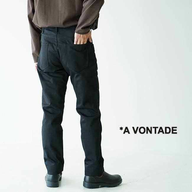 アボンタージ A VONTADE スリム ジーンズ Slim Jeans 細身 ベッドフォードクロス ピケ パンツ メンズ 2020秋冬 ボトムス VTD-0392-PT 【送料無料】 0901