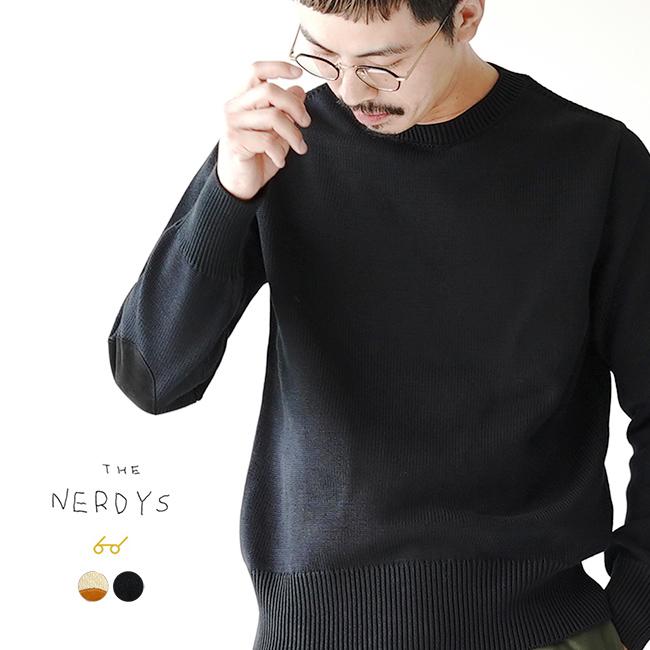 ザ ナーディーズ THE NERDYS ハード コットン ニット セーター HARD cotton knit sweat ハイゲージ コットンニット プルオーバー セーター クルーネック メンズ 2020秋冬 トップス TND-K01 【送料無料】 0804