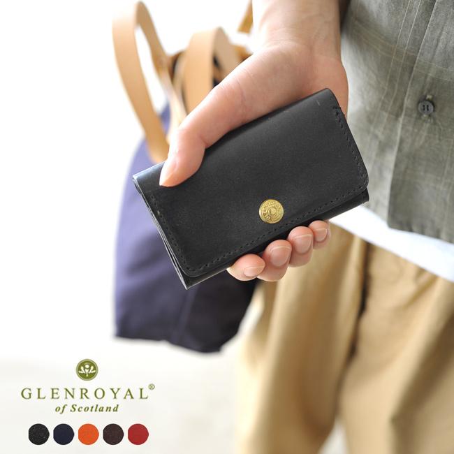 GLENROYAL グレンロイヤル BUSINESS CARD HOLDER ブライドルレザー カードケース 名刺入れ レディース メンズ 2020秋冬 アクセサリー 03-6131[クーポン対象外]
