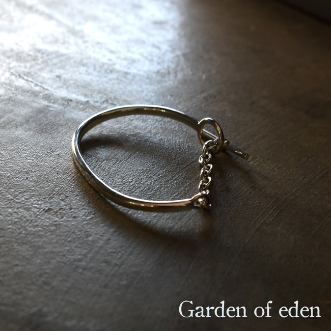 ガーデン オブ エデン Garden of Eden サークル Tバー ブレスレット CIRCLE T-BAR BRACELET シルバー ブレスレット バングル レディース 2020春夏 アクセサリー ED-VG18-OB09 【送料無料】0131