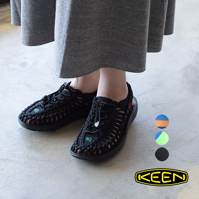 キーン KEEN ユニーク UNEEK ドローコード レースアップ サンダル スリッポン シューズ レディース/メンズ 2020春夏 靴 1014097 1020777 1023048 1023058 22.5cm-29.0cm 0429【送料無料】