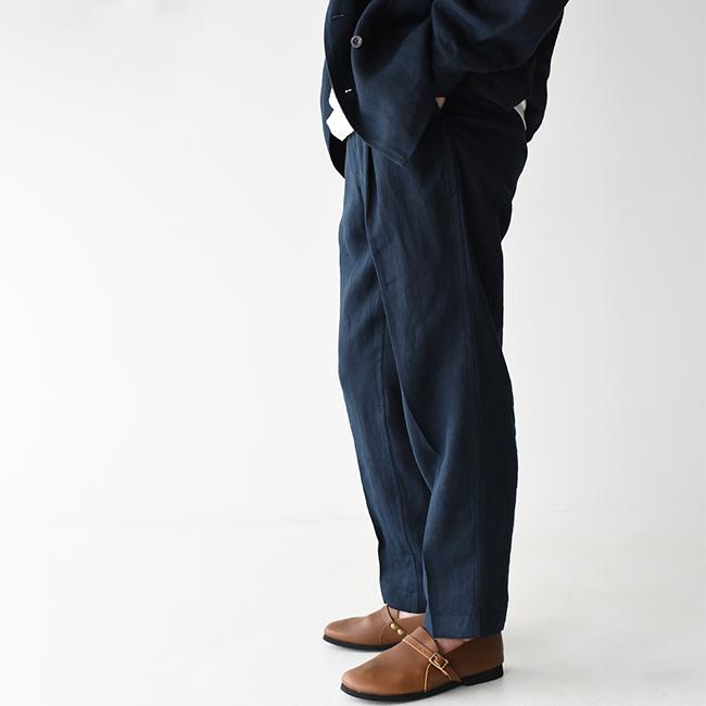 【SALE!50%OFF】カベル KABEL リネン 2タック パンツ トラウザー スラックス センタープレス メンズ 2020春夏 ボトムス 75-01-701004 KL0420-01-1108LT 0531【送料無料】【セール】【返品交換不可】【SALE】