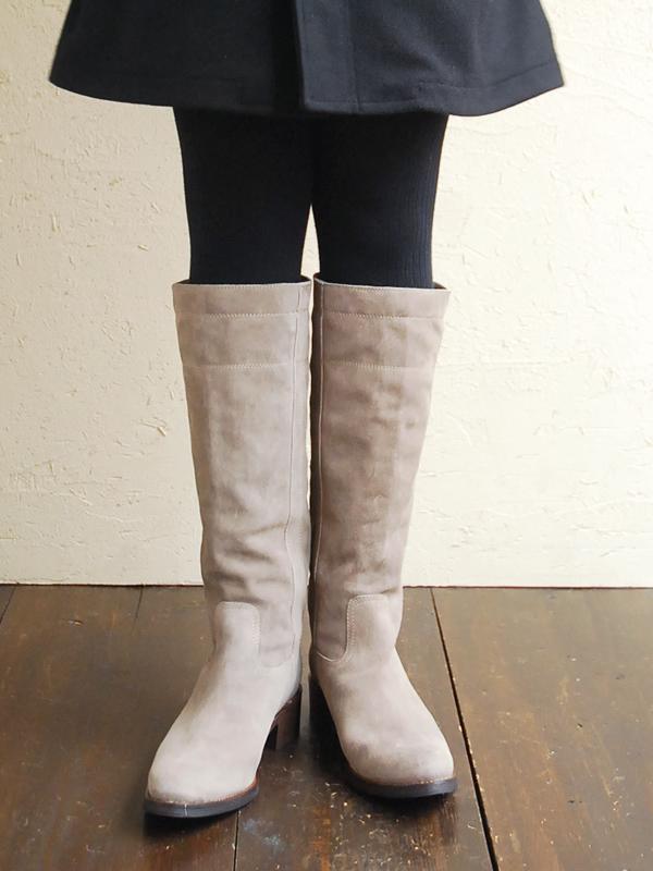 Fabio rusconi ファビオルスコーニ shini / suede long boots and 8,400 - 147 fod (2 colors)
