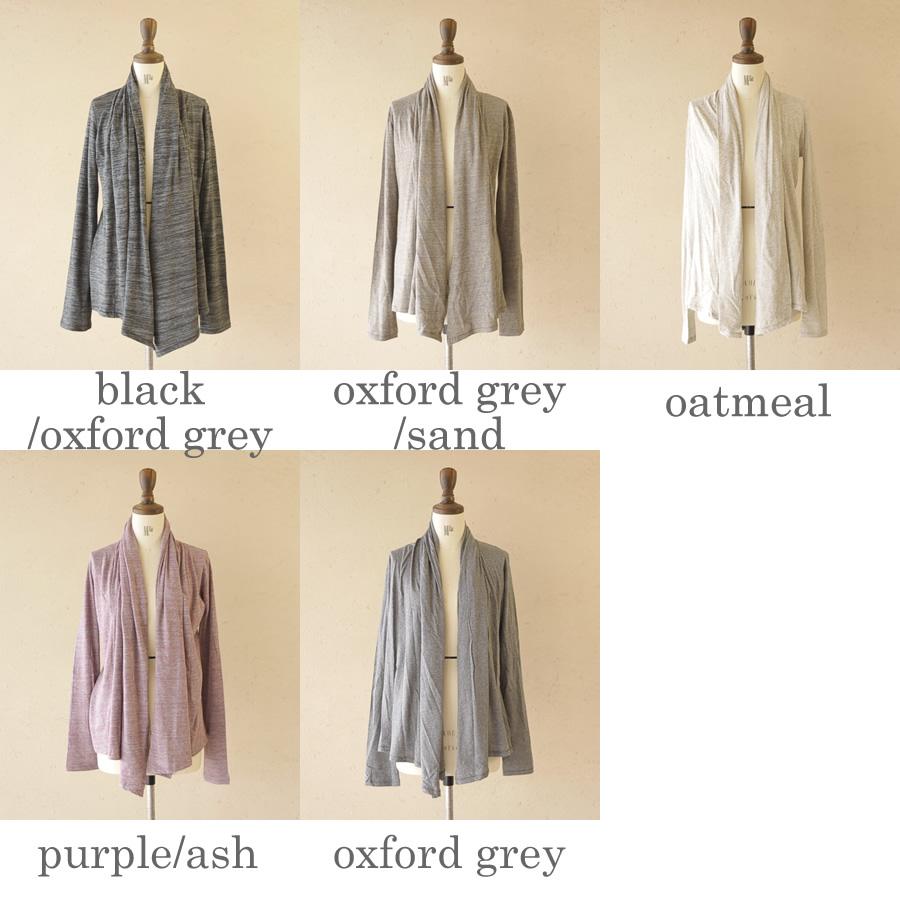 10 / 30 Up to 23:59! alternative alternative the 5th ave wrap / shawl collar long sleeve Cardigan & aa4514 (5 colors) (S)