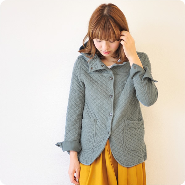 Armen Amen cotton quilt hooded jkt / コットンキルティング hood jacket, nam0555 (all 17 color) (M-L) SSpopular03mar13_ladiesfashion