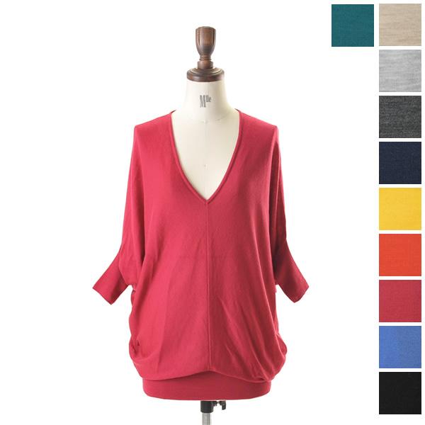 IERI Jerry wool ドルマンスリーブプル over, 174-904 (10 colors) (free)