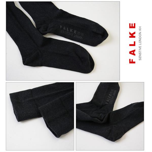 2b78ebda0 Crouka  FALKE ファルケ SENSTIVE LONDON KH  cotton high sox .47626 (S ...